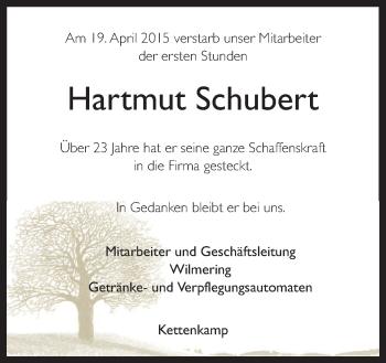 Zur Gedenkseite von Hartmut
