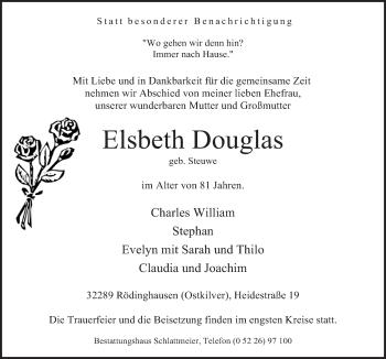 Zur Gedenkseite von Elsbeth