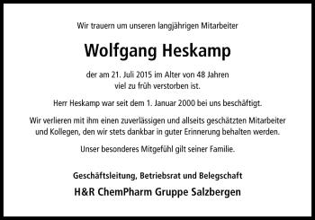 Zur Gedenkseite von Wolfgang