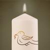 Kerze für In tiefer Verbundenheit mit Ihnen und mit Dir, lieber Marcel für